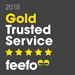 Feefo 2018 Gold Award Winner - read reviews