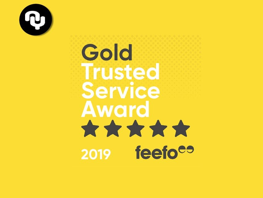 Yoga Near You receives Feefo Gold Trusted Service award 2019